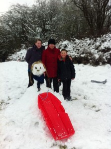Overtons Snowman